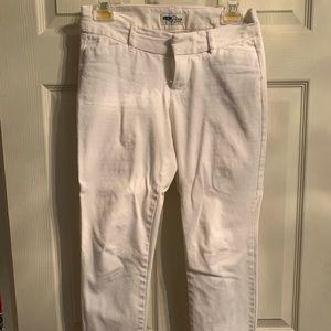 White Pixie Pants